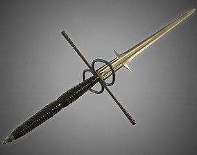 3D asset Venetian Sword