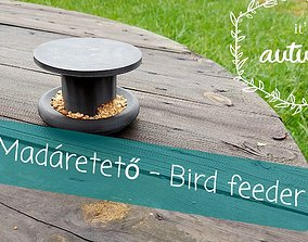 Bird feeder 3D print model