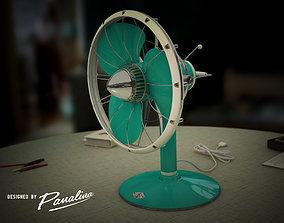 Panalina Vintage Fan Ventilator 3D model