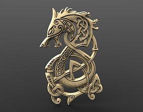 Viking dragon 4 CNC 3D print model