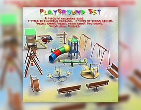 3D model Playground Set
