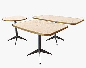 3D model Restaurant tables