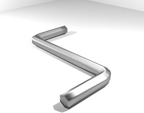Mechanical Handtools - Hex key Wrench 3D
