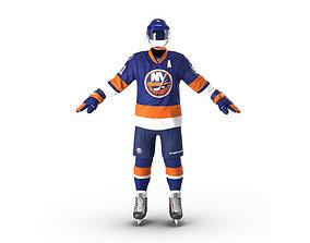 Hockey Equipment Islanders 3D model