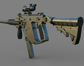 Machine Gun 3D assault