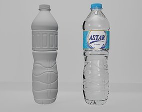 3D printable model Bottle Mineral Water 600ml
