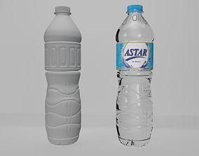 3D printable model Bottle Mineral Water 600ml