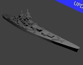 3D printable model French Richelieu Class Battleship