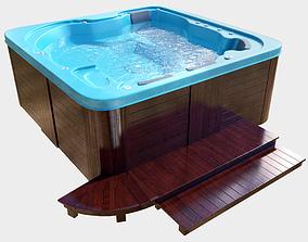Spa bath 3D model