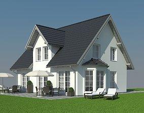 3D model Family House 019
