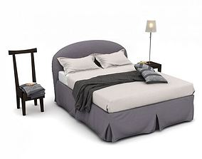 3D Modern Bedroom Set