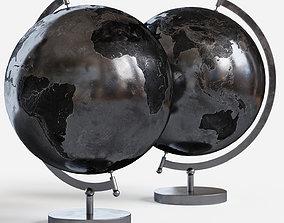 Metal Globe 3D model