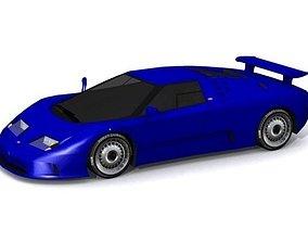 3D model Bugatti EB 110 S