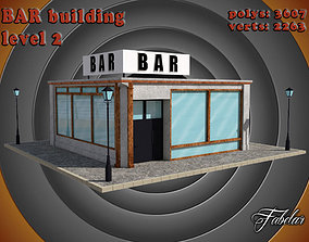 3D model game-ready people BAR level