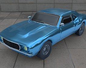 3D asset Camaro 1969