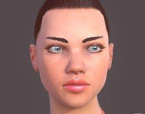 3D model AdrianaLowPoly02