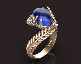 3D print model Olive Leaf ring