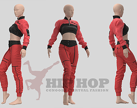 Women Hiphop Jumpsuit - 34 Marvelous Designer and