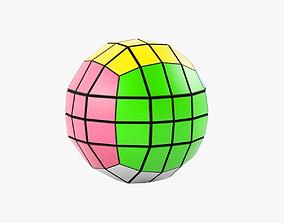 3D Rubiks cube 4x4x4 ball