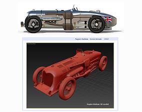 Napier-Railton Race Car 3D model