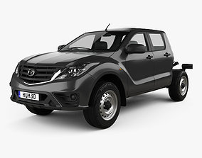 Mazda BT-50 Double Cab Chassis 2018 3D model
