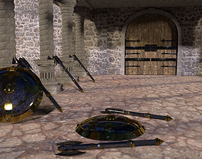 Medieval Weapons Pack 1 3D asset