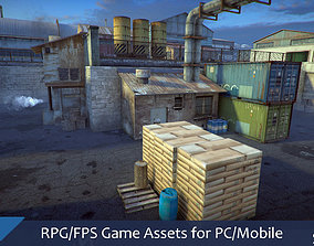 game-ready RPG FPS Game Assets for PC Mobile Industrial 1
