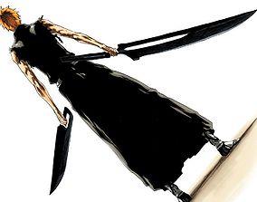 Bleach Series - Ichigos Final Zangetsu 3D print model
