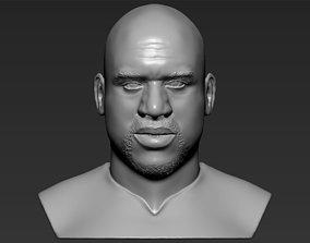 Shaq ONeal bust 3D printing ready stl obj formats