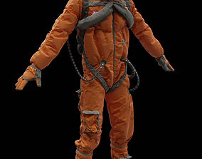 3D rigged Astronaut