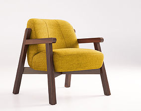 Jardan Harper armchair harper 3D