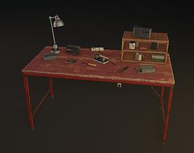 3D model realtime Old Worktable