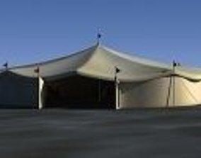 3D Carnival Tent