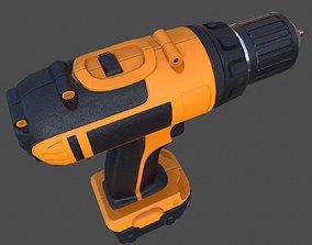 Cordless Drill - PBR 3D asset