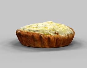 White Chocolate Flake Pie 3D model