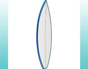 Surfboard Shortboard Performance 3D model