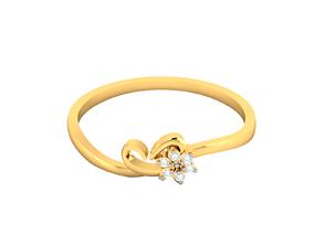Women Flower Band Ring 3dm render detail jewellery