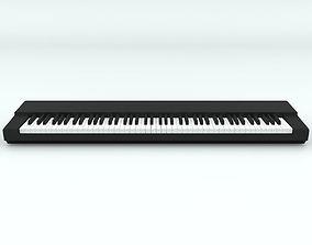 3D model 88 Key-Piano Keyboard Base