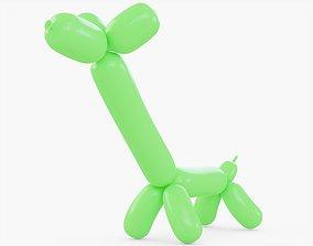 3D asset Balloon Animal