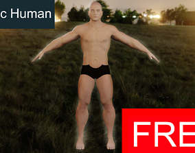 Athletic Human-FREE 3D model