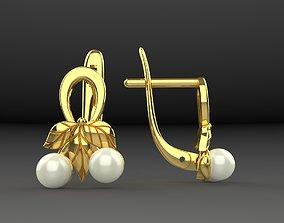 3D printable model Earrings Berry Cherry