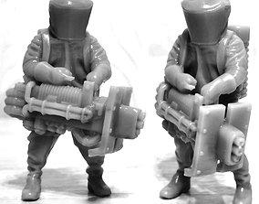 Biohazard suit 3D printable model