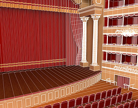 Old theatre 3D model