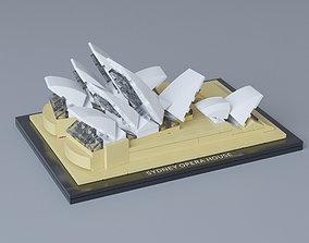 3D Lego Architecture Sydney Opera House 21012