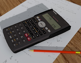 Casio Style Calculator Model