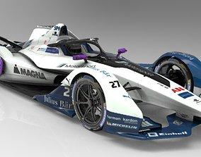 3D asset Formula E 2018-2019 TEAM Andretti Motorsport