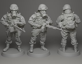 weaponry 3D printable model Soldier 28mm scale