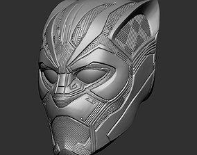 Black panther helmet 3D print model