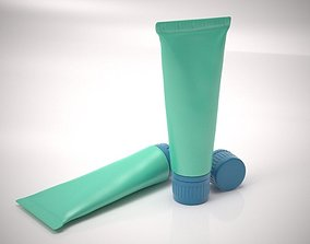 Cream tube 3D model