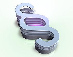 Layered Paragraphs 3D model